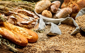 Картинка пшеница, белый, зерно, колоски, хлеб, колосья, мешочки