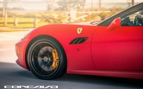 Картинка машина, авто, Ferrari, диски, auto, California, Wheels