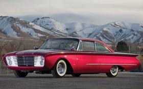 Картинка Ford, 1960, muscle car, Sedan, Custom, Adonis