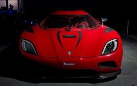 Обои красный, Koenigsegg, суперкар, роскошь, Agera R