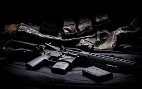 Обои оружие, винтовка, карабин, штурмовая, полуавтоматическая