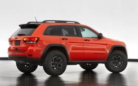 Обои Trailhawk II, Jeep, концепт, Grand Cherokee, Concept, джип