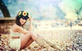 Картинка Happy, Modelo, Almudena Navarro