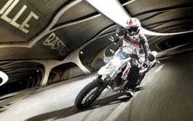 Обои мотоциклы, мото, Yamaha, moto, motorcycle, кросс