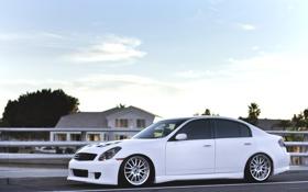 Обои Машина, Тюнинг, Белая, Car, Автомобиль, White, Wallpapers
