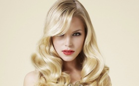 Картинка взгляд, модель, блондинка, emma blocksage, emma b