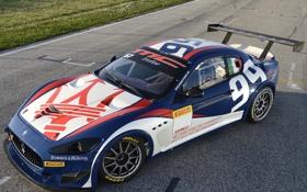 Картинка машина, спорт, Maserati, GranTurismo, мазерати, race car, Trofeo
