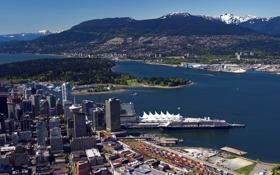 Обои Канада, Ванкувер, Vancouver, Pacific coast
