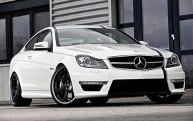 Обои Mercedes-Benz, Авто, Тюнинг, Машины, AMG, C63