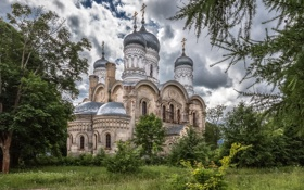 Картинка церковь, Успенский собор, духовность