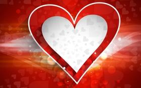Картинка линии, сердце, сердечки