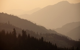 Картинка пейзаж, горы, природа, обои, wallpapers, грузия