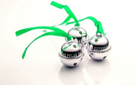 Обои праздник, колокольчики, Polar Express, Jingle Bells