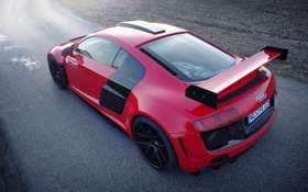 Обои машина, Audi, тюнинг, задок, GT850, Prior-Design