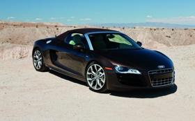 Обои Audi, Audi R8, cars, auto, walls, supercars, wallpapers auto