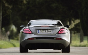 Обои Mercedes, авто обои 1920x1200, мерседесы, hd auto wallpapers, Mclaren SLR 722