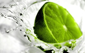 Обои water, limon, cytryna