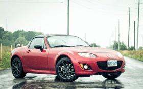 Картинка Mazda, rain, mx-5