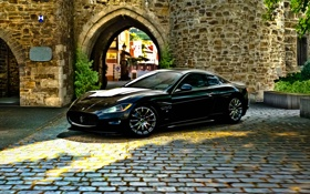 Обои брусчатка, Maserati, Gran Turismo 5, racing