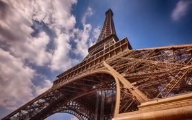 Обои Париж, Эйфелева башня, архитектура