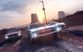 Обои USA, Race, Cars, Chicago, New York, Detroit, Game
