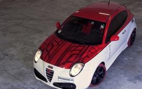 Картинка авто, Alfa Romeo, MiTo, ракурс, Marangoni, M430