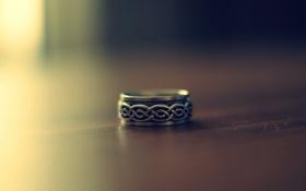 Картинка макро, фон, настроение, обои, кольцо, wallpapers, перстен