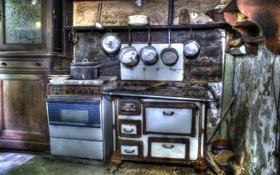 Обои фон, кухня, посуда