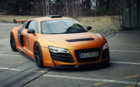 Обои машина, Audi, тюнинг, тачка, передок, GT850, Prior-Design