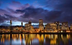 Обои Oregon, город, сity, USA, Portland