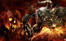 Обои мощь, дьявол, тьма