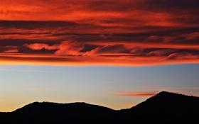 Обои природа, облака, небо