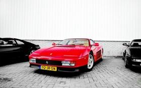 Картинка фото, Ferrari, cars, auto, Testarossa
