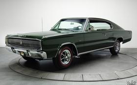 Картинка Dodge, Charger, 1967, Hardtop, Классическое авто, 426, Hemi