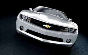 Картинка white, camaro, chevrolet