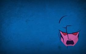 Обои робот, минимализм, страж, X-Men, blo0p