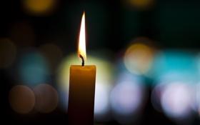 Обои фитиль, candle, свеча, свечка