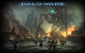 Обои война, игра, Halo Wars