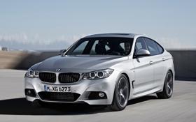 Картинка машина, фары, капот, BMW, 335i, передок, Gran Turismo