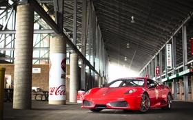 Обои Ferrari, Scuderia, 430