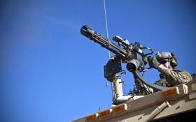 Картинка пулемёт, солдат, оружие