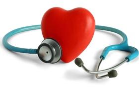 Картинка Сердце, белый фон, Heart, Стетоскоп