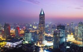 Картинка city, город, China, Китай, Шанхай, Shangai