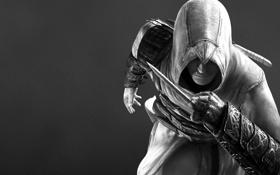 Обои черно-белый, Assassin's Creed, Кредо убийцы