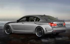 Обои 760, BMW, колеса, серая