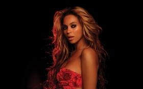 Картинка темно, dark, Beyonce Knowles, в красном, in red