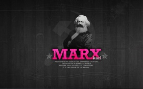 Обои великие люди, карл маркс, политик
