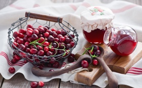 Обои еда, jam, Anna Verdina, cranberry