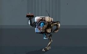 Картинка кубик, Portal, Портал, тортик