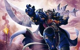 Обои World of Warcraft, Таурен, Тауренша, таурен-воин, Tauren